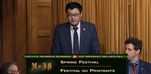 中国的春节正式被加拿大确立为法定假日